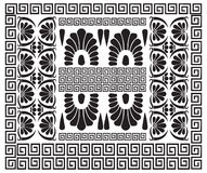 Greek pattern. Ancient Hellenic decor Stock Photography