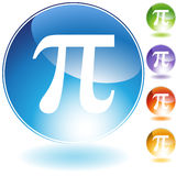 Greek Pi Royalty Free Stock Photo