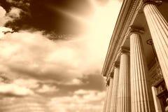 Greek pillars Royalty Free Stock Image