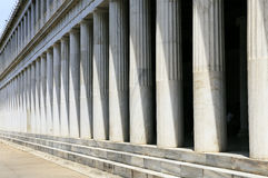 Greek Pillars, Athens Royalty Free Stock Photo