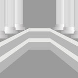 Greek Pillars Stock Photos
