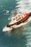 Greek pilot boat Stock Photo