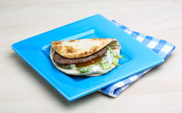 Greek pita Royalty Free Stock Images