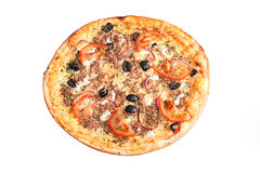 Greek pizza Royalty Free Stock Photos