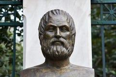 Greek poet Euripides Stock Photo