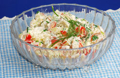 Greek Potato Salad Stock Photos