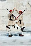 Greek Presidential guard change,Athens Royalty Free Stock Photography