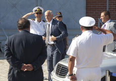 Greek Prime Minister George Papandreou Royalty Free Stock Photos