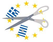 Greek problem Royalty Free Stock Image
