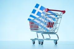 Greek property sale Royalty Free Stock Photography