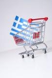 Greek property sale Stock Photo