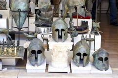 Greek pseudo antique souvenirs Royalty Free Stock Images
