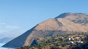 Greek pyramid at Kefalonia island Stock Photos