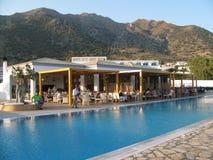 Greek resort Royalty Free Stock Photography
