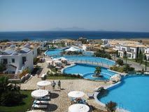 Greek resort Stock Photos