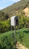 Greek roadside memorial. Fodele. Crete. Greece Royalty Free Stock Photo