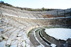 Greek-Roman amphitheater. Stock Photography