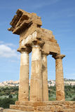 Greek ruin Royalty Free Stock Photography