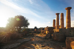 Greek ruins Royalty Free Stock Images