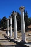 Greek ruins Stock Images