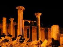 Greek ruins. Ancient Greek City in Turkey (Selcuk Stock Image