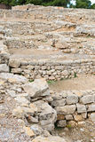 Greek ruins of Empuries Royalty Free Stock Photos