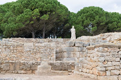 Greek ruins of Empuries Stock Photography
