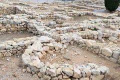 Greek ruins of Empuries Stock Images