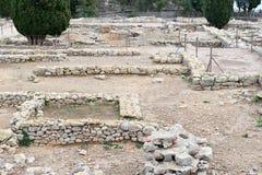 Greek ruins of Empuries Royalty Free Stock Images