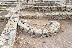 Greek ruins of Empuries Royalty Free Stock Image