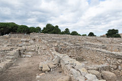 Greek ruins of Empuries Royalty Free Stock Photography