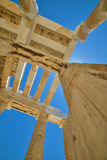 Greek ruins of Parthenon on the Acropolis in Athens, Greece Royalty Free Stock Photo