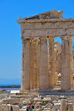 Greek ruins of Parthenon on the Acropolis in Athens, Greece Stock Photography