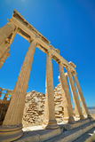 Greek ruins of Parthenon on the Acropolis in Athens, Greece Stock Photo