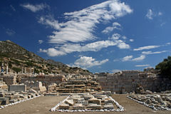Greek ruins in Turkey Stock Images