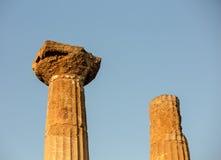 Greek ruins Stock Photography