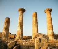 Greek ruins Stock Image