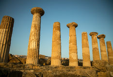 Greek ruins Stock Photos