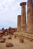 Greek's ruin. S in the south of italy (sicily Stock Photography