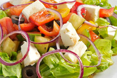 The greek salad Royalty Free Stock Photography