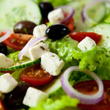 Greek Salad Royalty Free Stock Photo