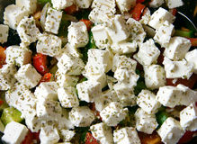 Greek Salad - 2 Stock Images