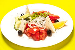 Greek Salad Royalty Free Stock Photography