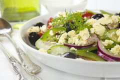 Greek Salad Stock Photography