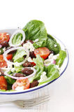 Greek Salad Stock Photo