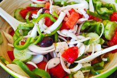 Free Greek Salad Stock Image - 40849361