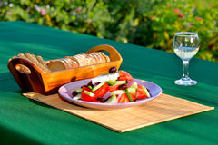 Free Greek Salad Stock Photography - 48324702