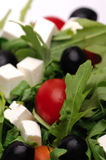 Greek salad. Close-up shot of greek salad Stock Photography