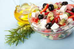 Free Greek Salad Royalty Free Stock Images - 9485029