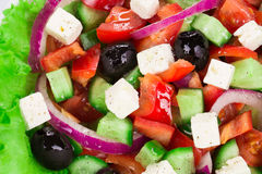 Greek salad. Royalty Free Stock Photos